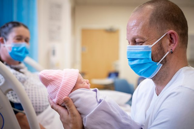 South Tyneside and Sunderland NHS Foundation Trust has shared information for parents-to-be as it continues to manage the risk of Covid-19 on its maternity units. Photo by Jim Varney.
