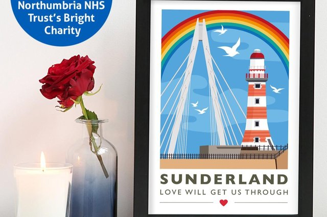 For the Love of the North's Sunderland print