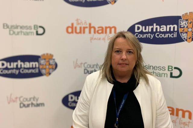 Cllr Amanda Hopgood, the new leader of Durham County Council.