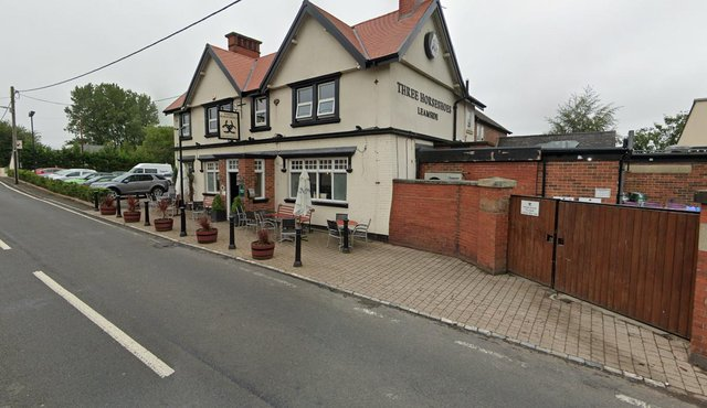 Three Horseshoes, in Leamside.