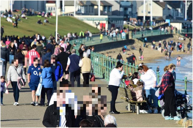 Sunderland's seafront pictured on Saturday. Picture: North News.