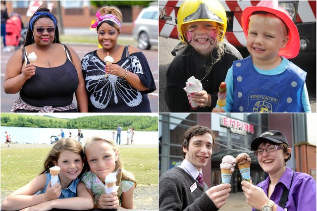 Tuck in to these South Tyneside ice cream reminders and see if you can spot someone you know.