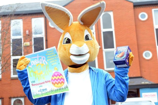 Sunderland Echo and Hope 4 Kidz annual Easter Egg Appeal