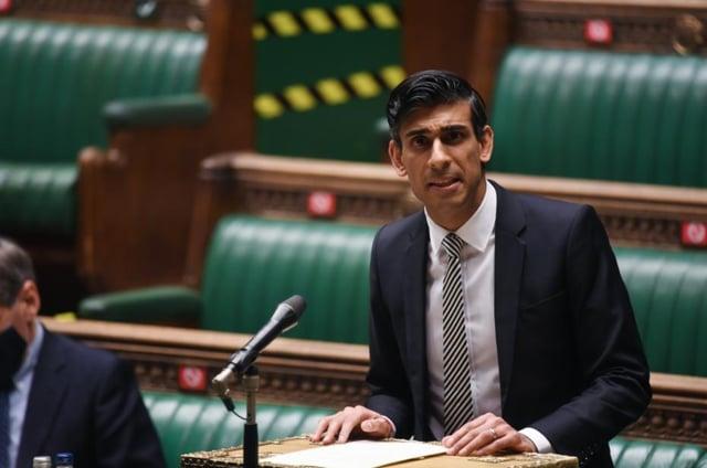 Rishi Sunak addresses Parliament