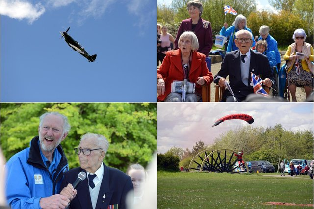 A celebration of 101-year-old Len Gibson's life was held in Herrington Country Park.