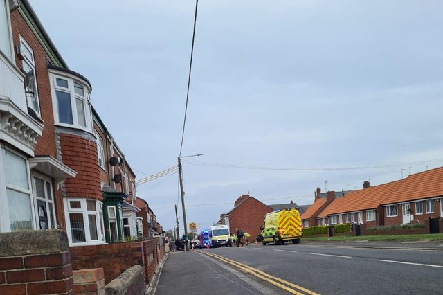 Emergency services were called to the accident./Photo: Cat Mitchell