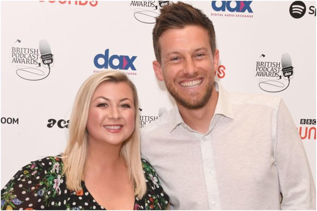 Rosie and Chris Ramsey.