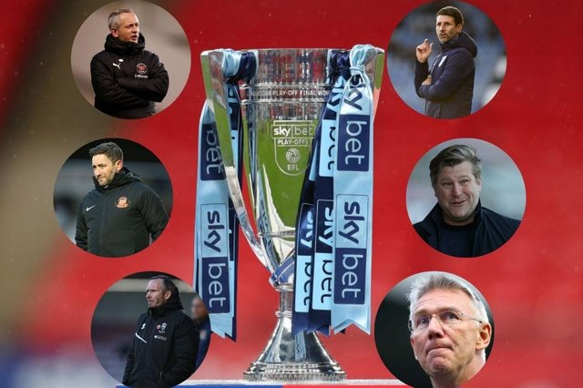What Blackpool, Sunderland, Lincoln, Portsmouth, Charlton and Oxford are all saying ahead of a dramatic League One final day