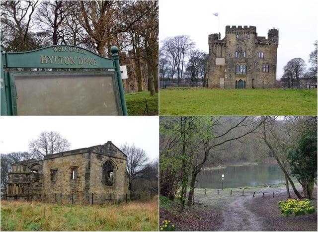 Take a stroll around Hylton Castle and Dene.