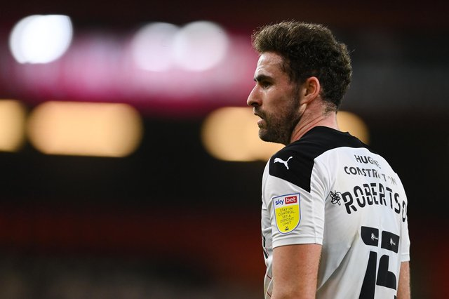 Clark Robertson of Rotherham United looks on during the Sky Bet Championship match between AFC Bournemouth and Rotherham United.