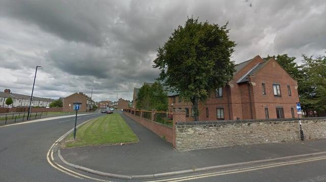 Lillian Main was a resident of Ashton Grange Care Home in St Luke's Road in Pallion. Image copyright Google.