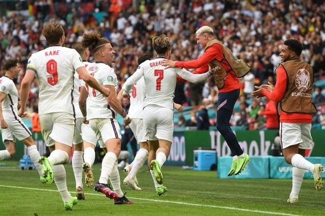 Jordan Pickford and Jordan Henderson help England to historic Germany victory