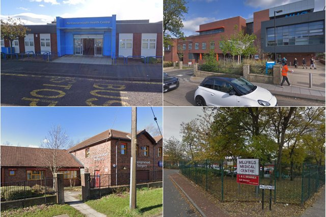 These are the best and worst GP practices in the Sunderland CCG area as voted for by patients.