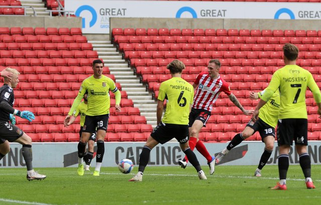 Sunderland face Lincoln City in the League One play-off semi-finals next week.