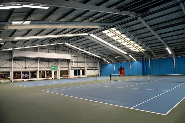 The Sunderland Tennis Centre, Silksworth. Picture by FRANK REID