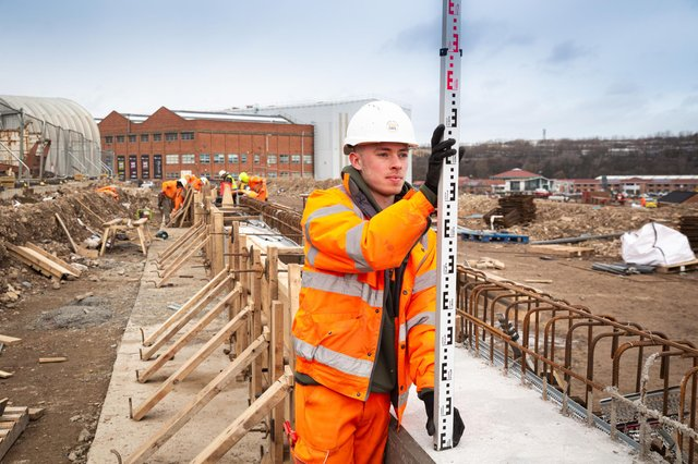 Nathan Sinclair is an engineering apprentice employed by Esh Group.