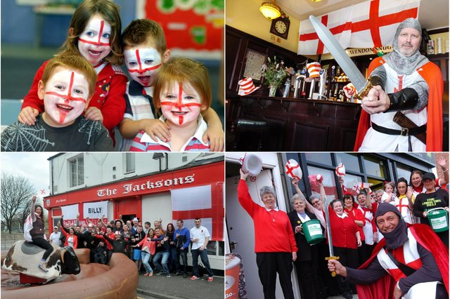 Putting the years back as we go patriotic in Sunderland and East Durham.