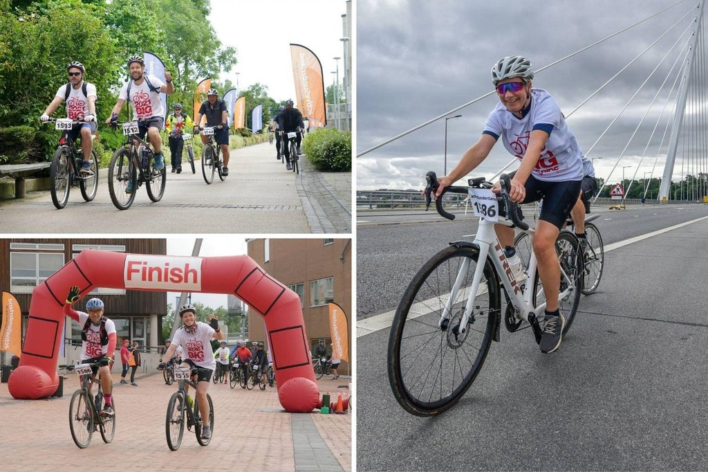 Pictures from the BIG Bike Ride 2021 in Sunderland as riders return to popular event