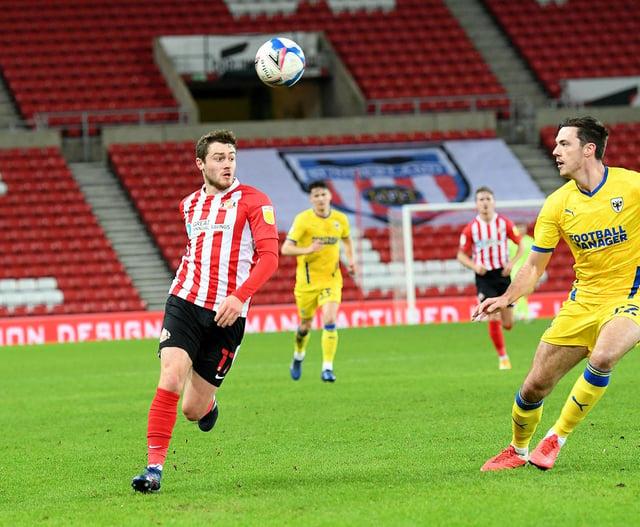 Sunderland midfielder Elliot Embleton