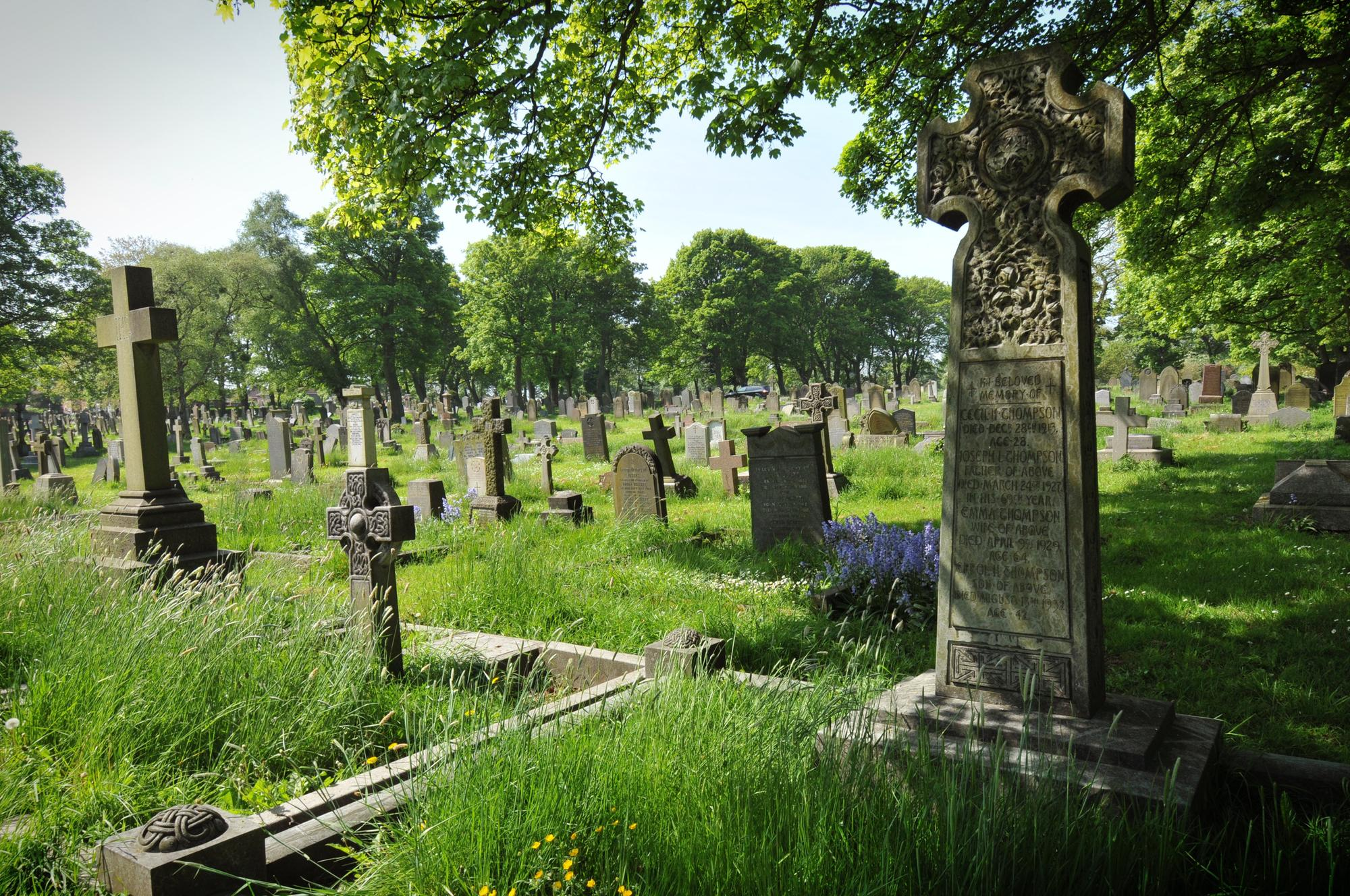 Sunderland murder victim is finally buried a century after mystery disappearance