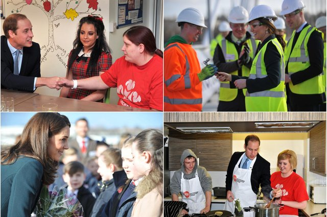 The Royal couple were welcome visitors in 2018 and Prince William was a big hit on his visit in 2013.