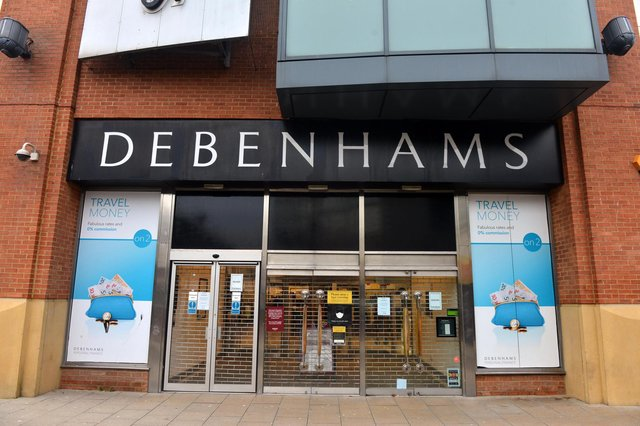 The Bridges Debenhams will open for a limited number of weeks for a final closing down sale
