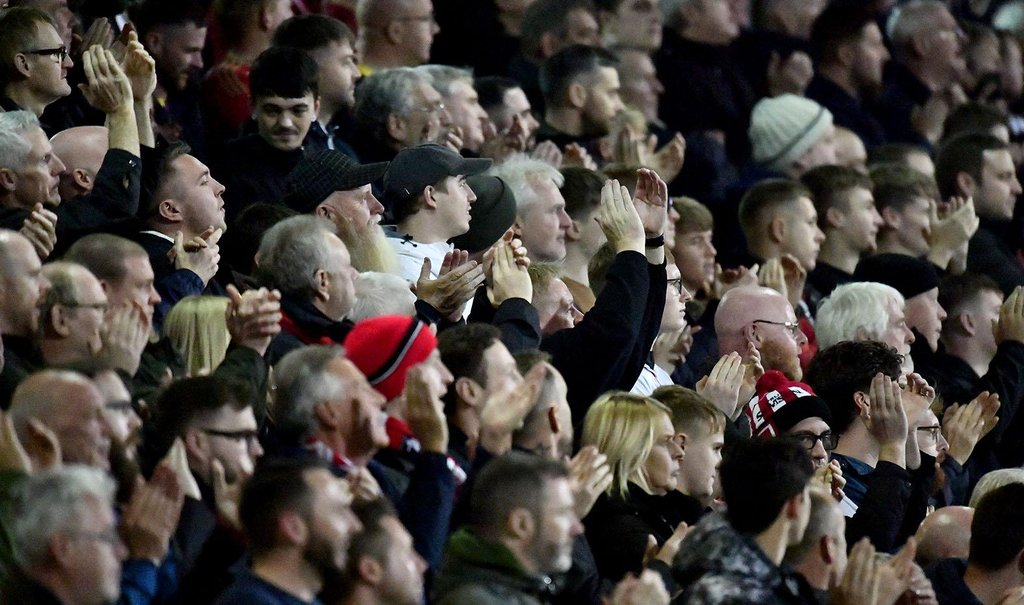Can you spot yourself in the away end at Crewe Alexandra as 1,680 Sunderland fans watch emphatic win?