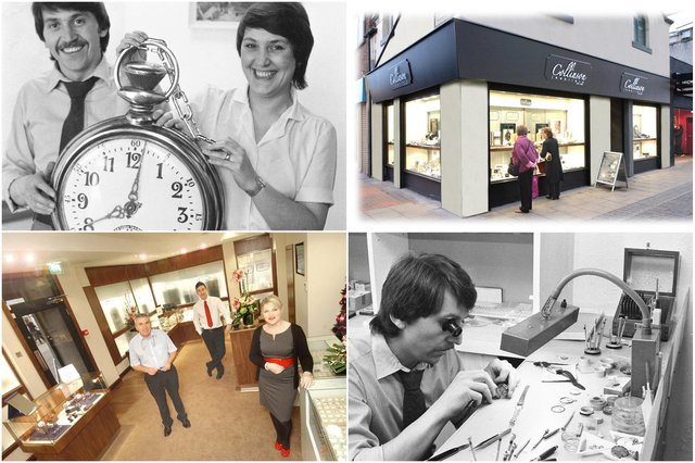 Collinsons is 40 years old this month