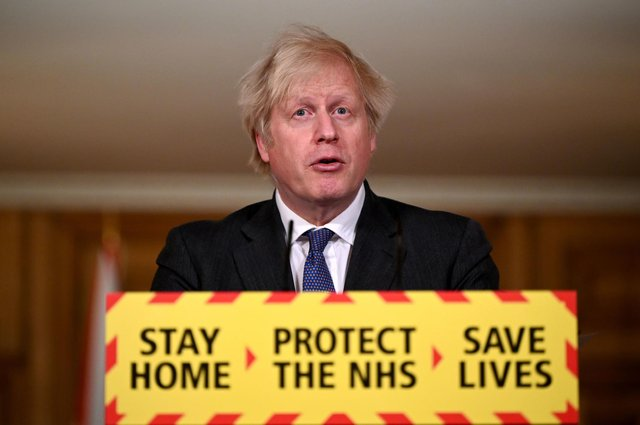Prime Minister Boris Johnson has backed plans to hold a national day of reflection to mark the anniversary of the first Covid-19 lockdown. Photo: PA.