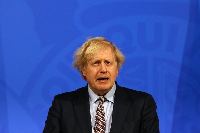 Prime Minister Boris Johnson has indicated that work from home guidance could end in June. Photo: Getty Images.