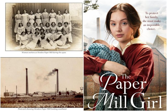 The Paper Mill Girl is released in March and is inspired by Sunderland's old paper mills.