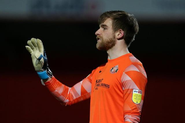 Sunderland goalkeeper Lee Burge.