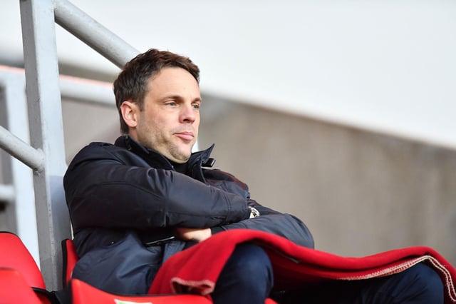 Sporting Director Kristjaan Speakman