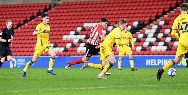 Sunderland midfielder George Dobson