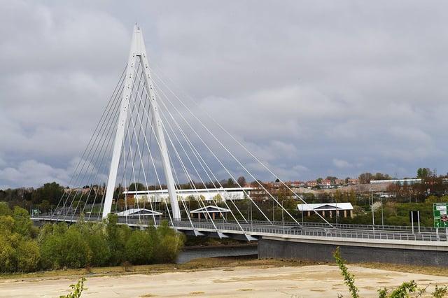 Gareth Burdett, 33, was caught smelling of booze in his new Renault Megane on Sunderland's Spire Bridge.