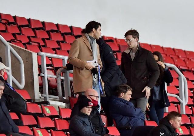 Sunderland owner Kyril Louis-Dreyfus at the Stadium of Light.