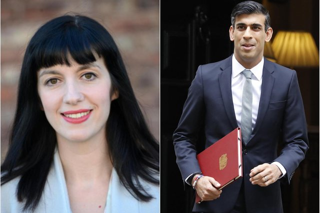 Sunderland MP Bridget Phillipson has called for an investigation into Rishi Sunak's involvement with Greensill Capital. Photo: Getty Images.