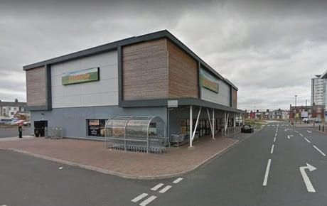 Suspected raider found hiding behind bins after Roker supermarket door is smashed