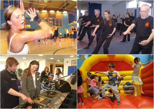 Whether you were working out or enjoying a fun day, we want your memories of these Raich Carter Centre events.