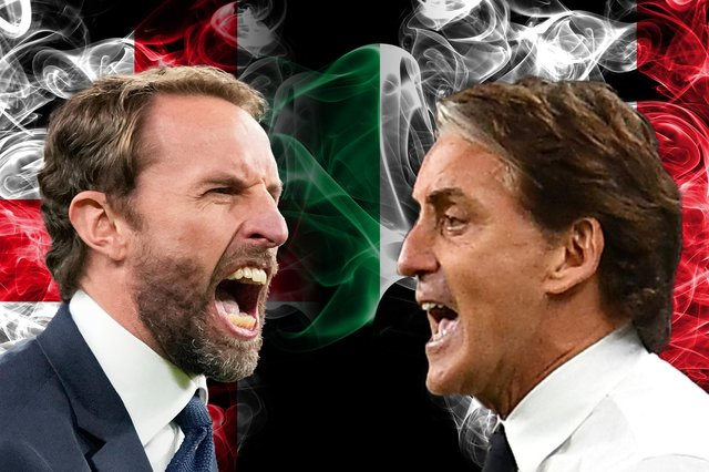 England face Italy in the Euro 2020 final on Sunday, July 11 at 8pm.