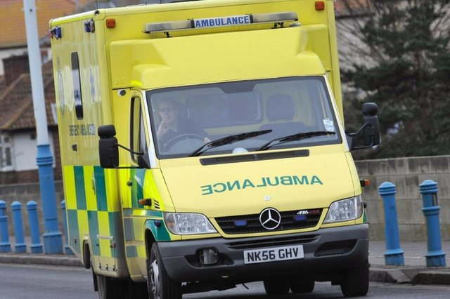The North East Ambulance Service responded to calls of concern for a parachutist.