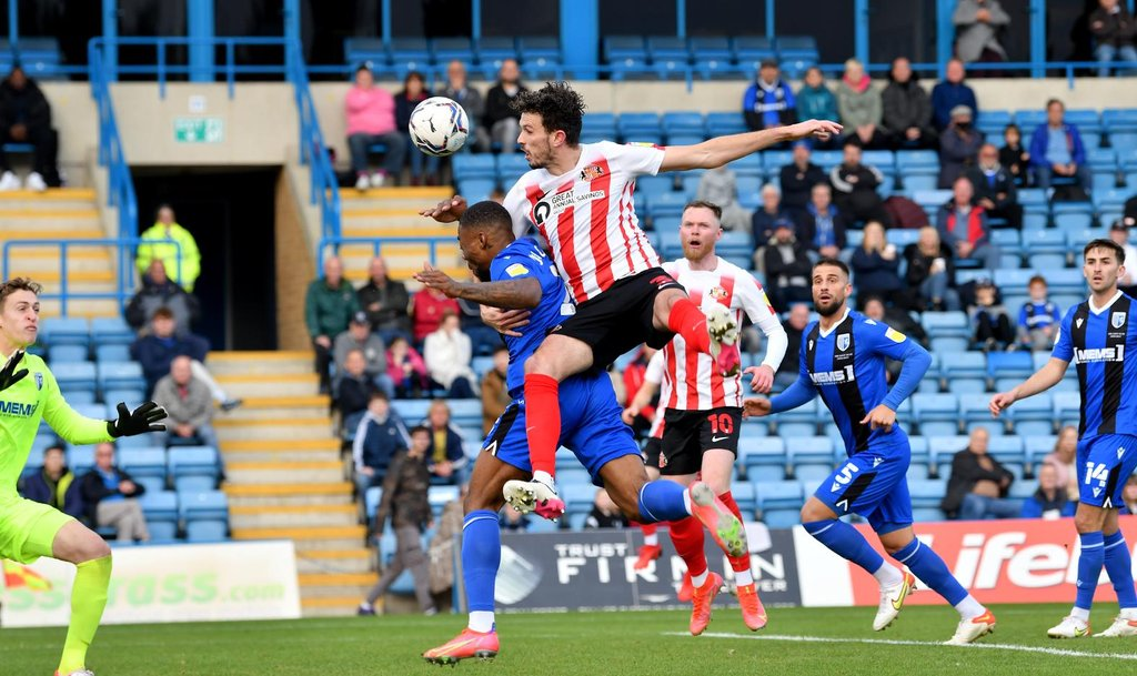This is how ten-man Sunderland got back to winning ways in League One at Gillingham after Aiden O'Brien and Tom Flanagan goals