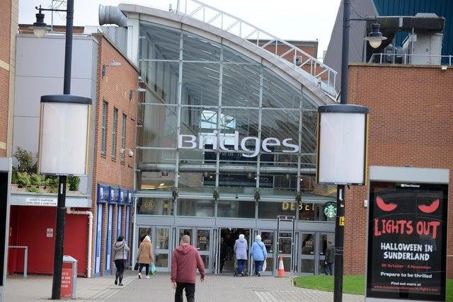 The stores which will be open at The Bridges on Monday