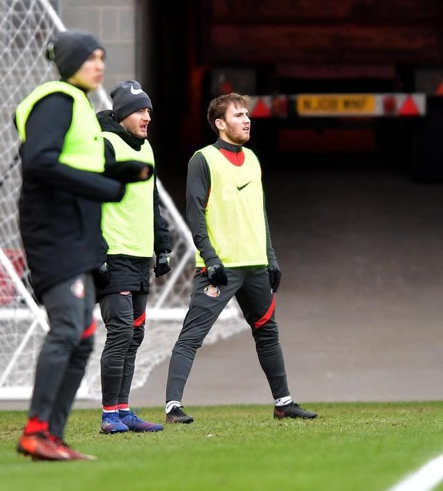 Sunderland youngster Jake Vokins impressed at Accrington Stanley on Wednesday evening
