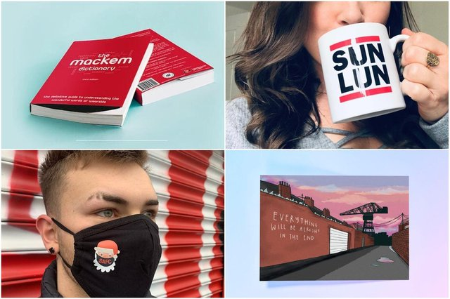 Treat your friends and family to some Mackem gifts this Christmas