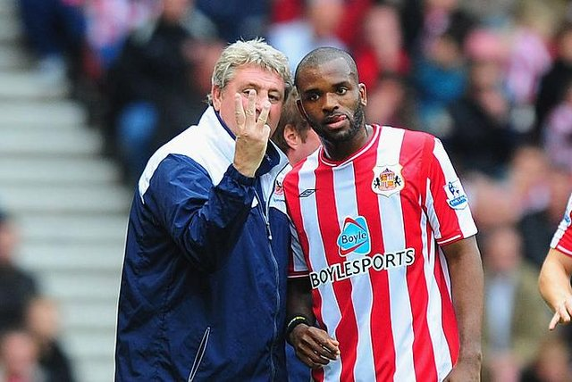 Darren Bent was signed for Sunderland by Steve Bruce in 2009. (Photo by Mike Hewitt/Getty Images)