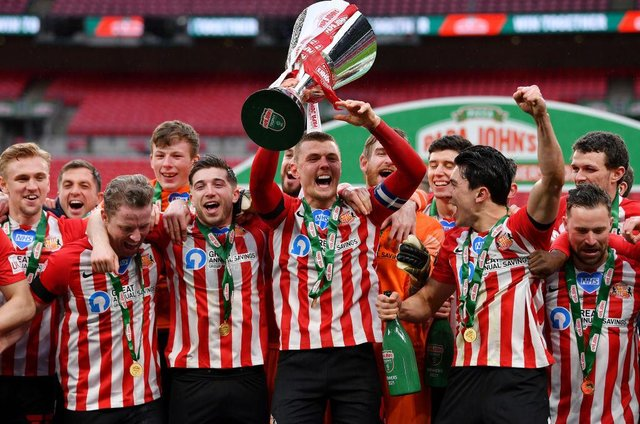 The financial boost received by Sunderland after their Papa John's Trophy final win at Wembley