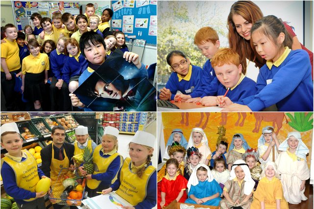 Scenes from Dame Dorothy Primary School but how many do you remember?