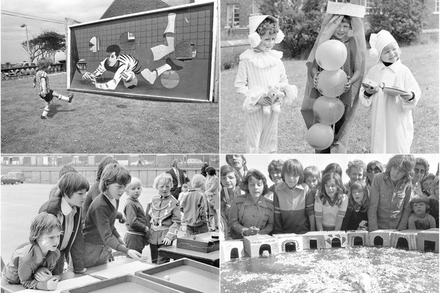 There's stalls, fancy dress and fun galore in this Sunderland Echo archive collection.