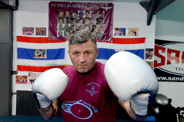 Former Para Dave Corrigan is hosting a Nathan Cuthbertson Memorial fight.